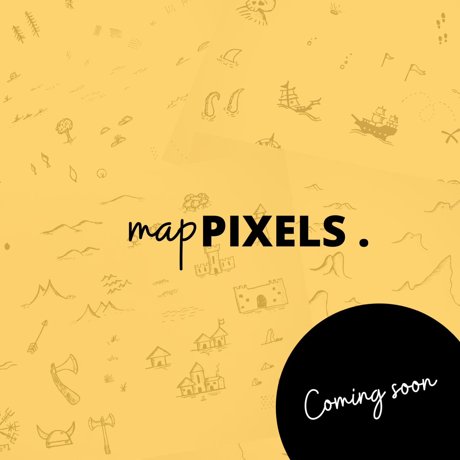 Map Pixels is coming soon.